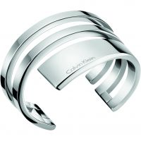 Ladies Calvin Klein Stainless Steel Small Beyond Bangle