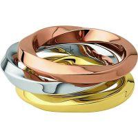 Damen Calvin Klein Edelstahl Exklusives Ring Größe P