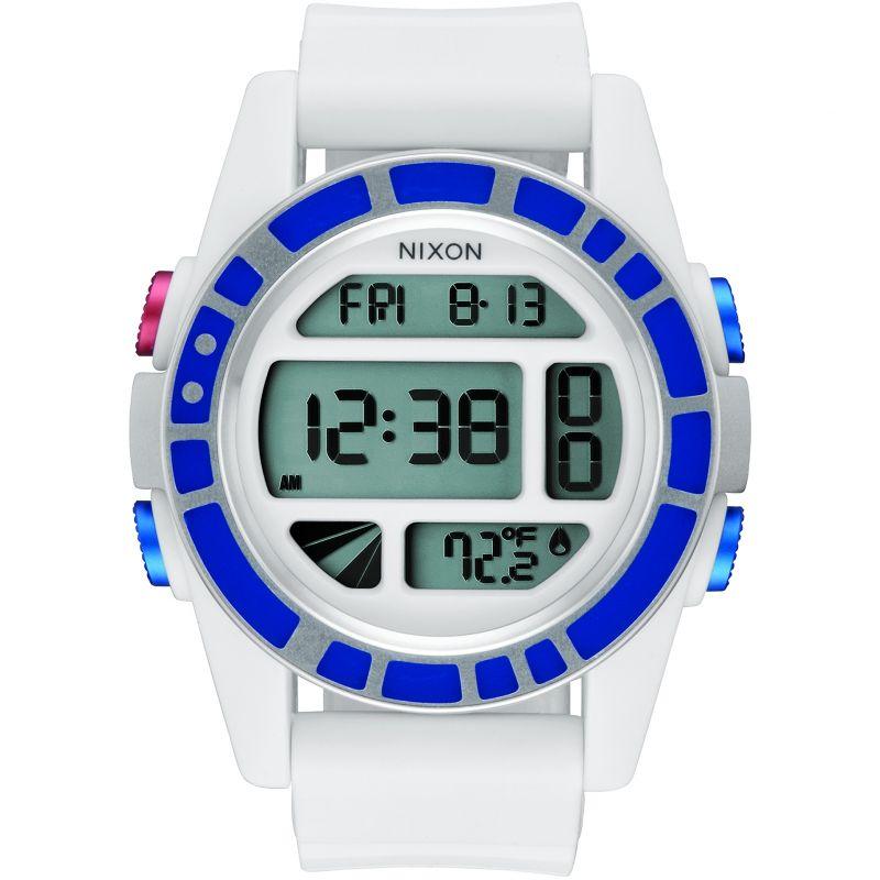 Mens Nixon The Unit Star Wars Special Edition Alarm Chronograph Watch