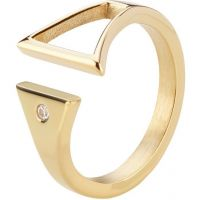 Mens STORM PVD Gold plated Rohaise Ring Size L