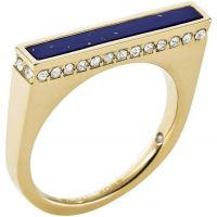 Damen Michael Kors PVD Gold überzogen Größe P Ring