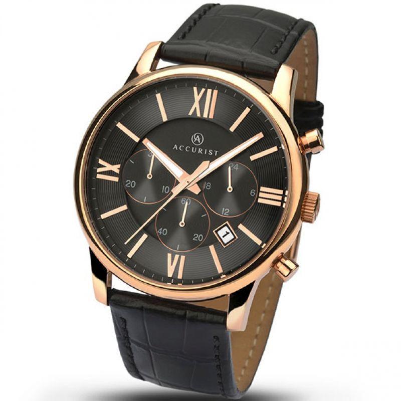 Herren Accurist Chronograph Watch 7095