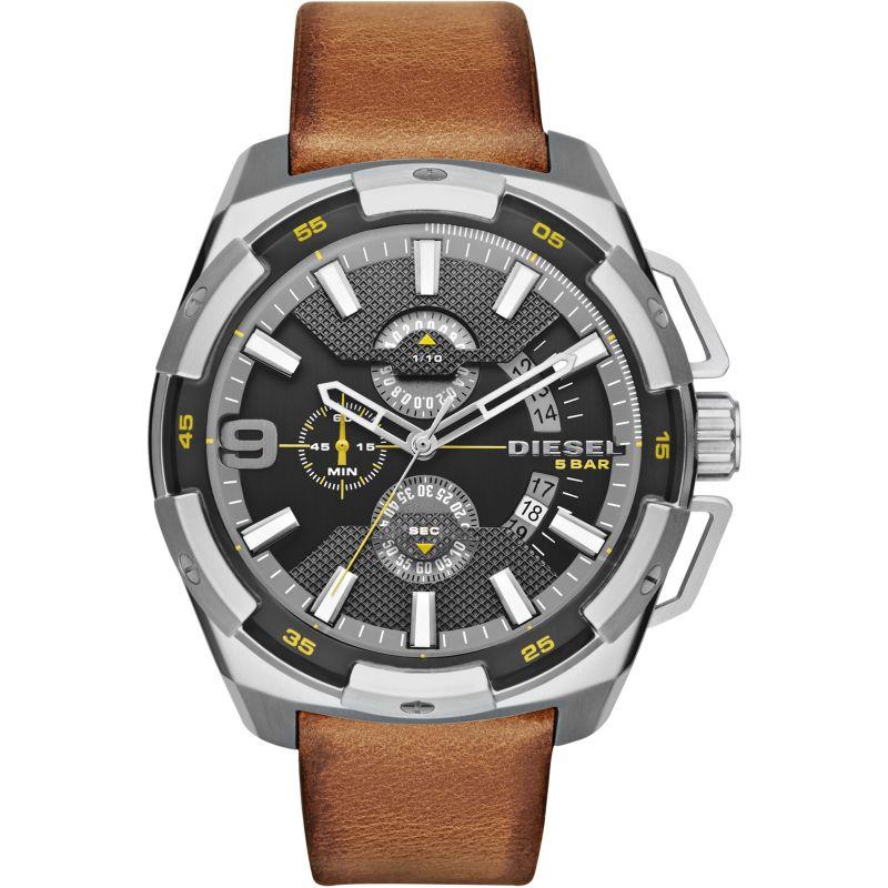 Mens Diesel Heavyweight Chronograph Watch