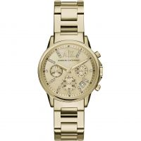 femme Armani Exchange Chronograph Watch AX4327