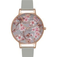 Ladies Olivia Burton Painterly Prints Watch