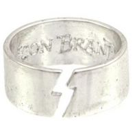Icon Brand Base metal Clash Ring Size Medium