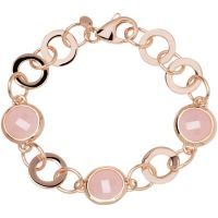 femme Bronzallure Rose Quartz Bracelet Watch WSBZ00031.R