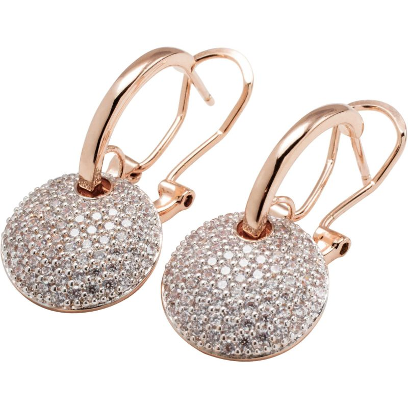 Ladies Bronzallure 18ct Gold Plated Bronze Earrings WSBZ00568.WR
