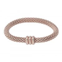 Ladies Bronzallure 18ct Gold Plated Bronze Bracelet