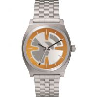 Orologio da Unisex Nixon The Time Teller SW BB-8 Orange / Black A045SW-2605