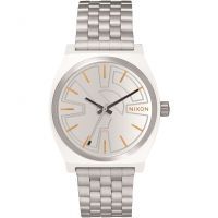 Nixon The Time Teller SW BB-8 Silver / Orange Unisex horloge Zilver A045SW-2604
