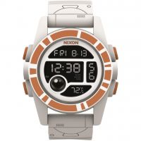 Reloj Cronógrafo para Hombre Nixon The Unit 40 SW BB-8 White / Orange A490SW-2606