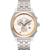 Unisex Nixon The Time Teller Chrono SW BB-8 White / Eco-Drive Watch A972SW-2606