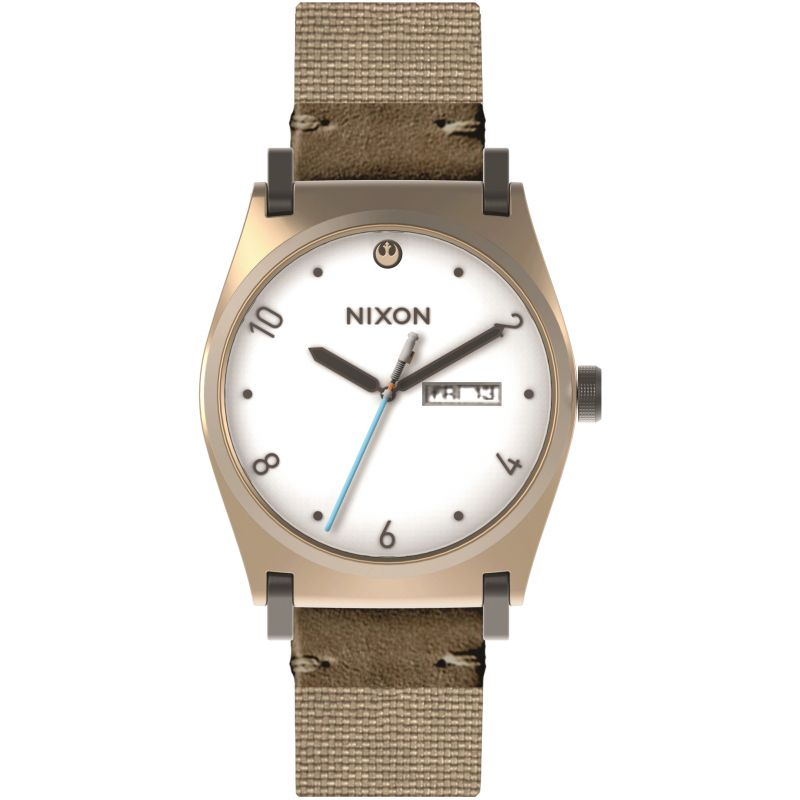 Ladies Nixon The Jane Leather SW Rey Light Gold / Watch