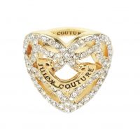 Juicy Couture Jewellery Pave Open Heart Ring JEWEL