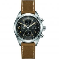 Mens Hamilton Khaki Field 42mm Automatic Chronograph Watch