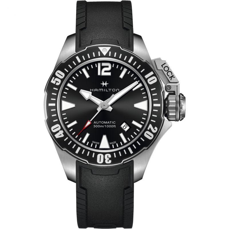 Mens Hamilton Khaki Frogman 42mm Automatic Watch