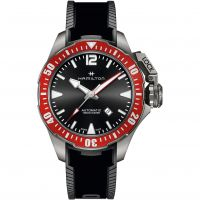 Mens Hamilton Khaki Frogman 46mm Titanium Automatic Watch