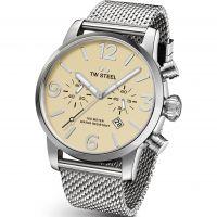 Herren TW Steel Maverick Chronograph 45mm Watch TWMB3