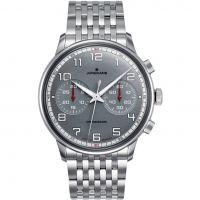 Herren Junghans Meister Driver Chronoscope Chronograph Watch 027/3686.44