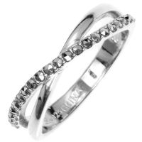 Ladies Judith Jack PVD Silver Plated Ring
