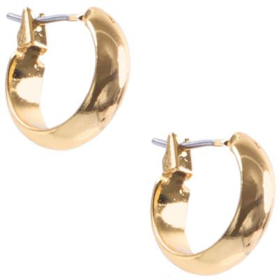 Small Hoop-Shiny Pierced Ears Earrings 60283760-887