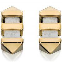 femme Fiorelli Jewellery Marble Bar Stud Earrings Watch E5126