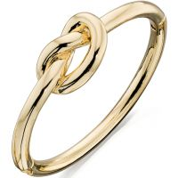Ladies Fiorelli PVD Gold plated Knot Bangle
