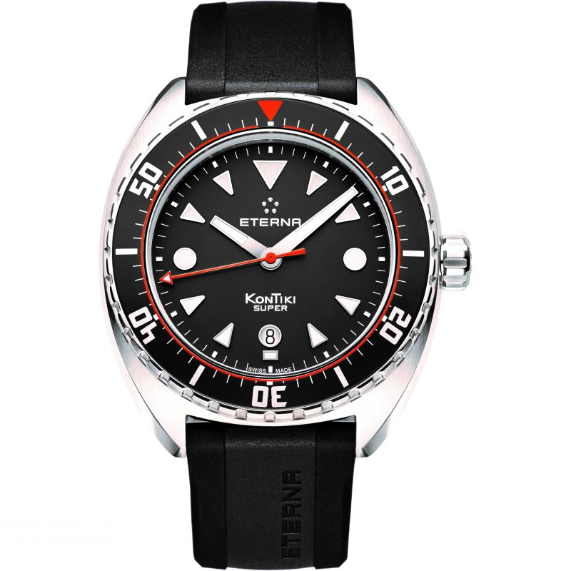 Mens Eterna KonTiki Super Automatic Watch