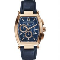 Gc Retroclass Herenchronograaf Blauw Y01004G7