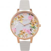 Damen Olivia Burton Blume Show geblümt Uhren