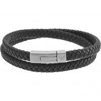 Mens Emporio Armani Stainless Steel Signature Bracelet EGS2176040
