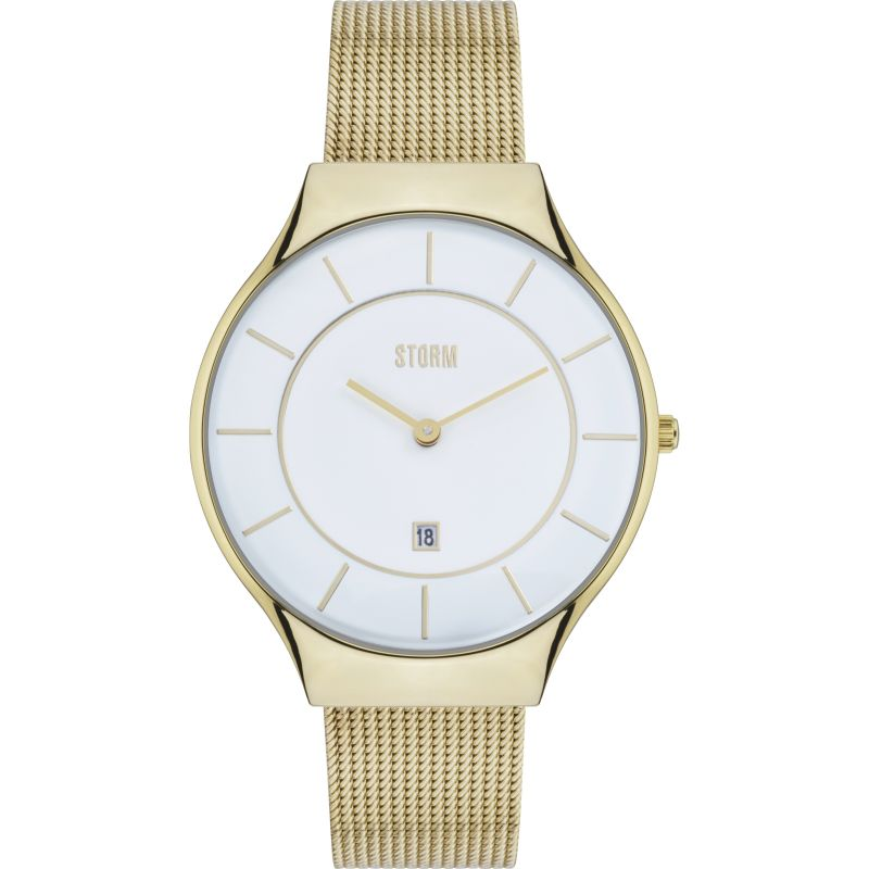 Ladies Storm Reese Gold Watch