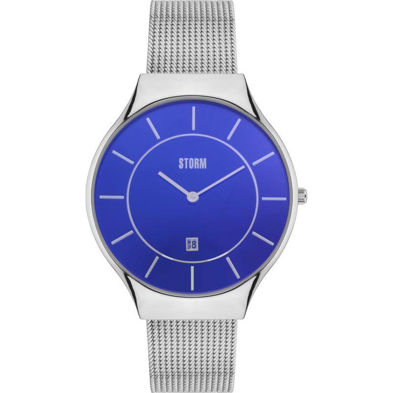 Unisex Storm Reese Lazer Blue Watch