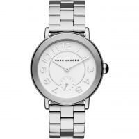 Marc Jacobs Riley Dameshorloge Zilver MJ3469