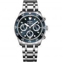 Herren Rotary Schweizer hergestellt Legacy Tauchen Quarz Chronograf Uhr