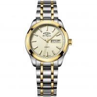 Mens Rotary Swiss Made Legacy Quartz Watch