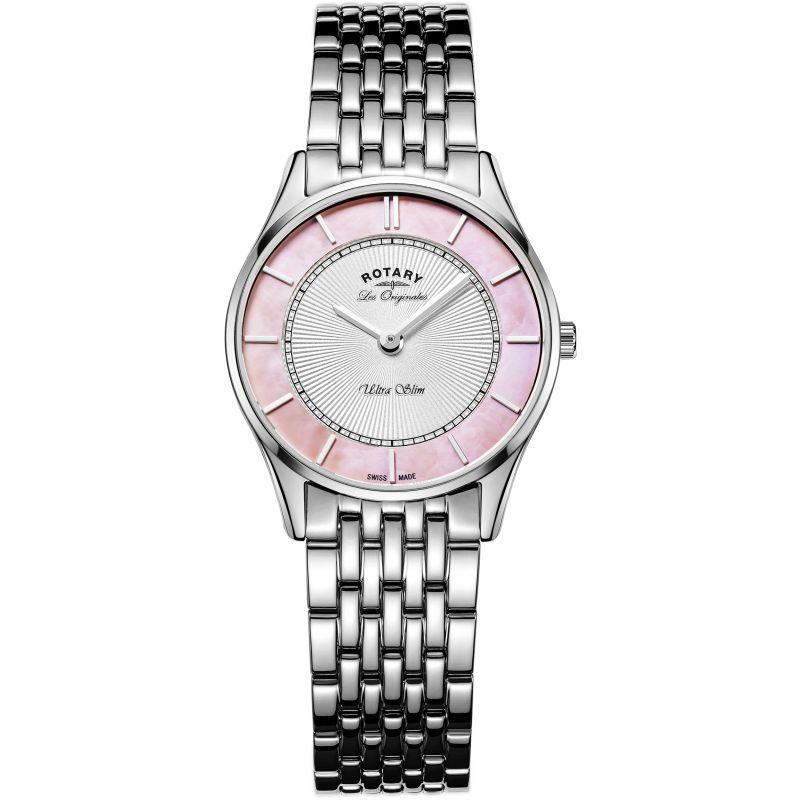 Ladies Rotary Swiss Made Ultra Slim Quartz Watch