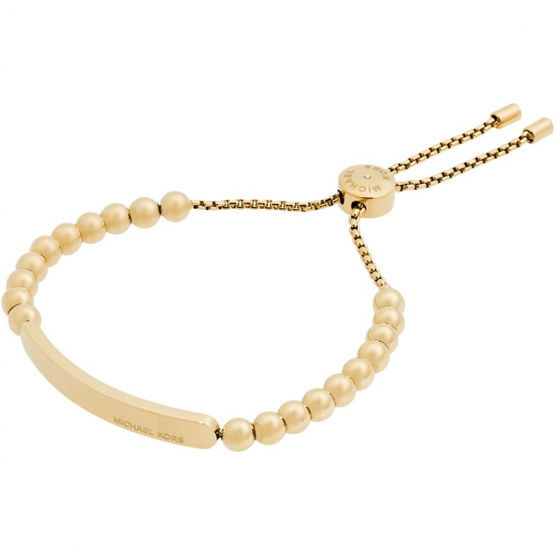 Ladies Michael Kors PVD Gold plated Heritage Bracelet MKJ5588710
