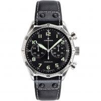 Herren Junghans Meister Pilot Chronograph Watch 027/3590.00