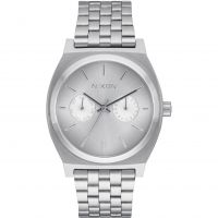 Mens Nixon The Time Teller Deluxe Watch