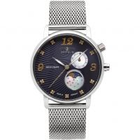Damen Zeppelin Luna Mondphase Watch 7637M-3