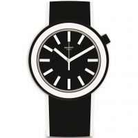 Swatch Pop-Looking Unisex horloge Zwart PNB100
