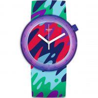 Damen Swatch Pop-Thusiasm Watch PNP101
