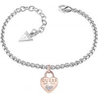 Guess Dames All About Shine Bracelet Verguld rhodium UBB82105-L