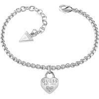 Damen Guess Rhodium Plated Alle About Shine Armband