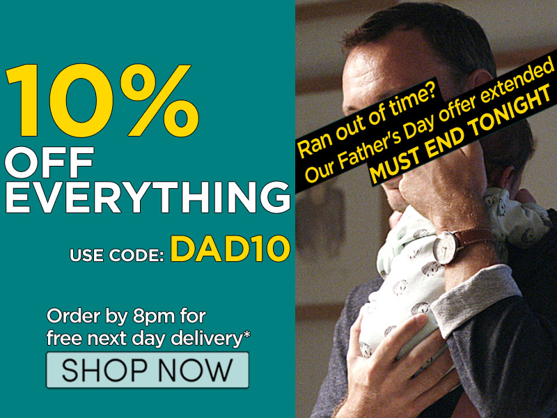 10% off everything Watchshop
