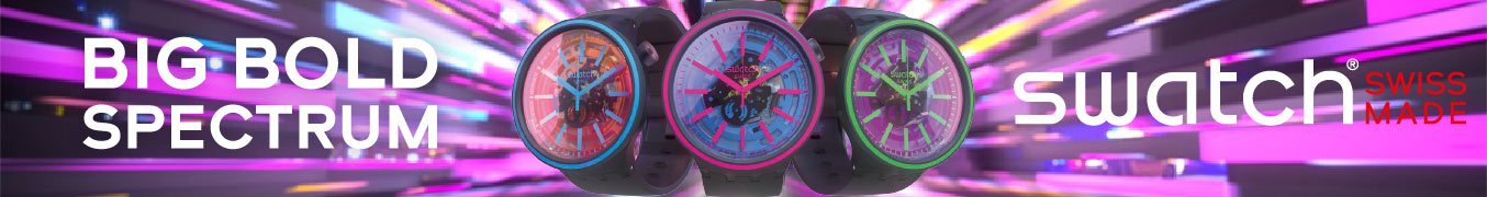 Swatch Big Bold Spectrum Watches