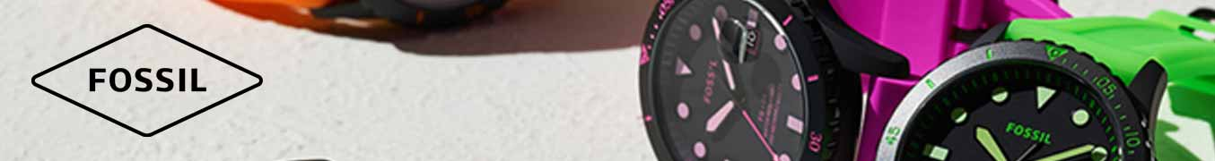 Fossil Neon Watches