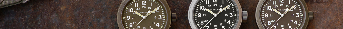 Hamilton Khaki Field Watches